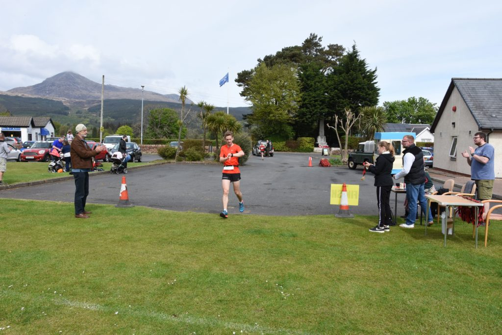 In fourth place and the first male local over the line was Michal Bochenek  with a time of 37 minutes and 45 seconds.