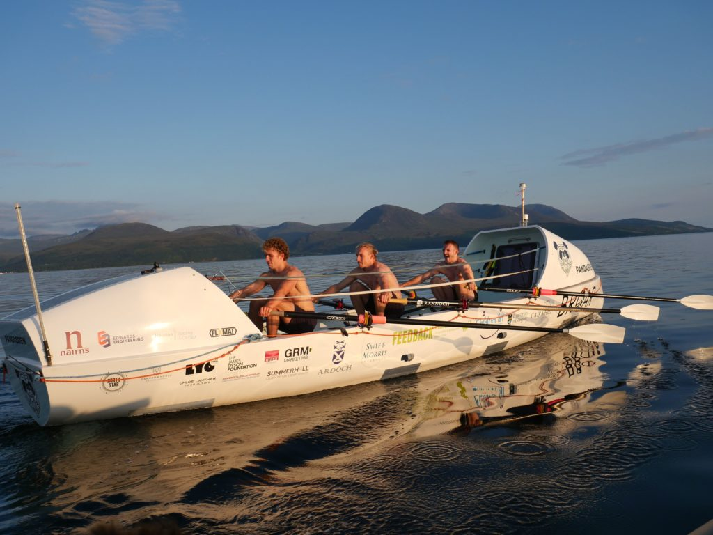 The rowers are hoping to become the first three brothers and youngest trio to row any ocean.