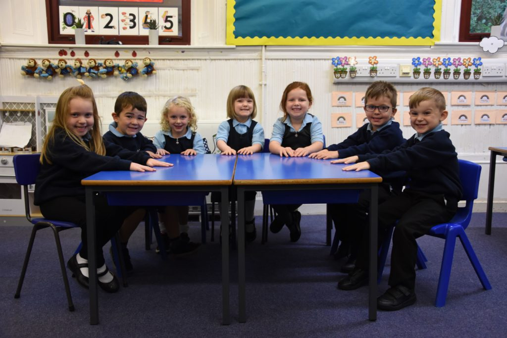 Brodick Primary School had the third biggest intake with seven new pupils.