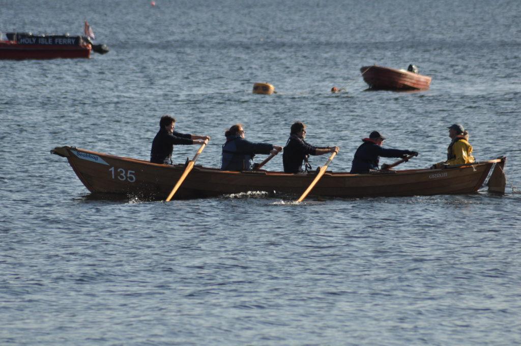 The Coastguard crew in action.