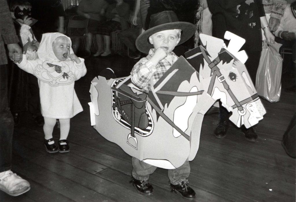 The new generation of young guisers at Kildonan.