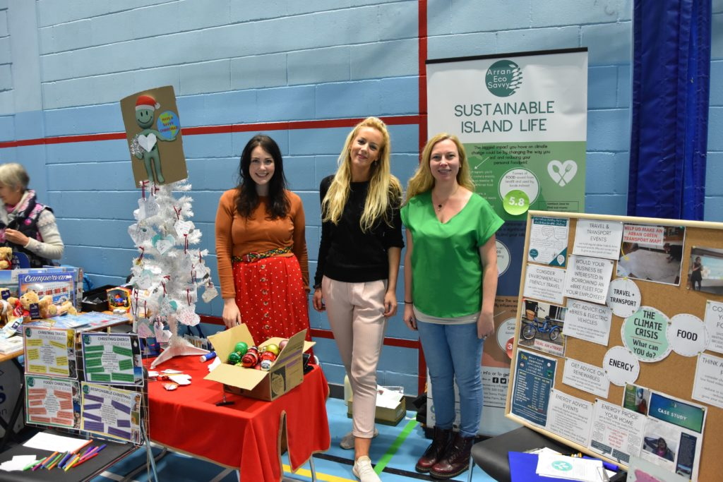 The ladies of Eco-savvy spread their message of sustainable living along with a number of fun activities.
