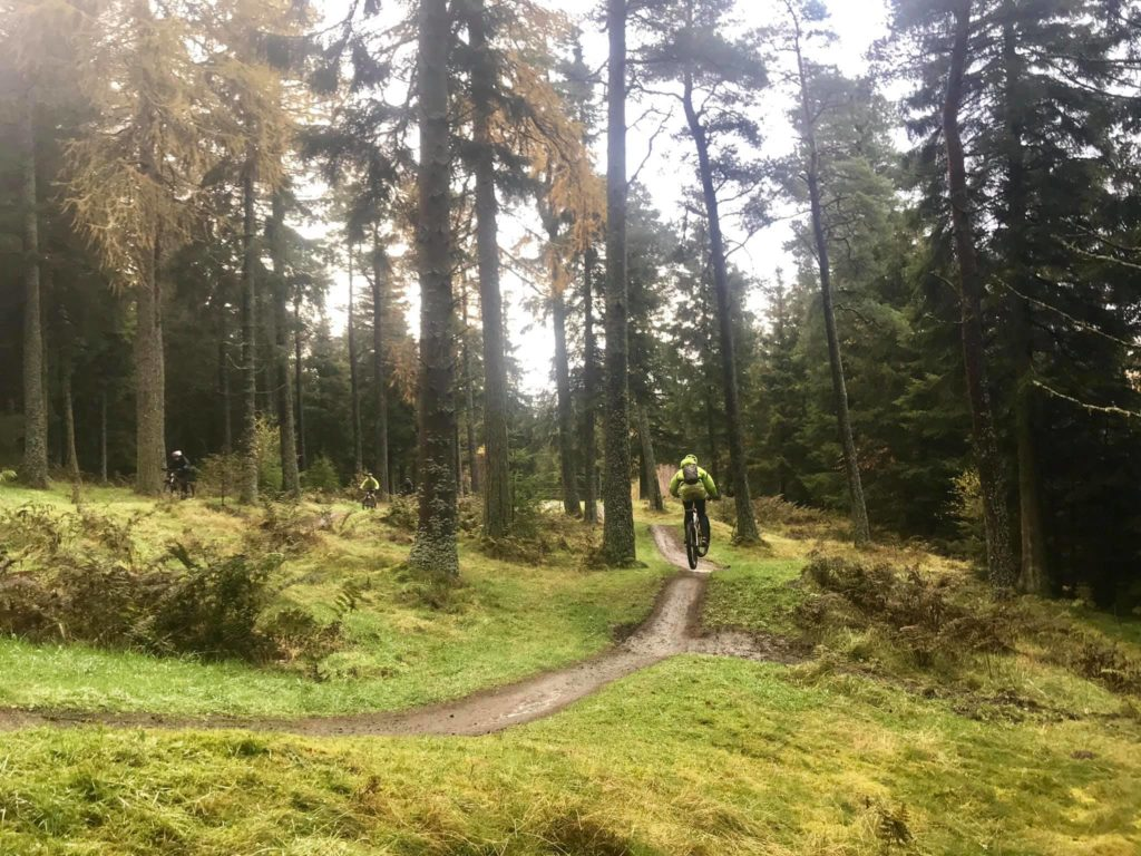 Glentress provides excellent cycling paths in beautiful surrounds.