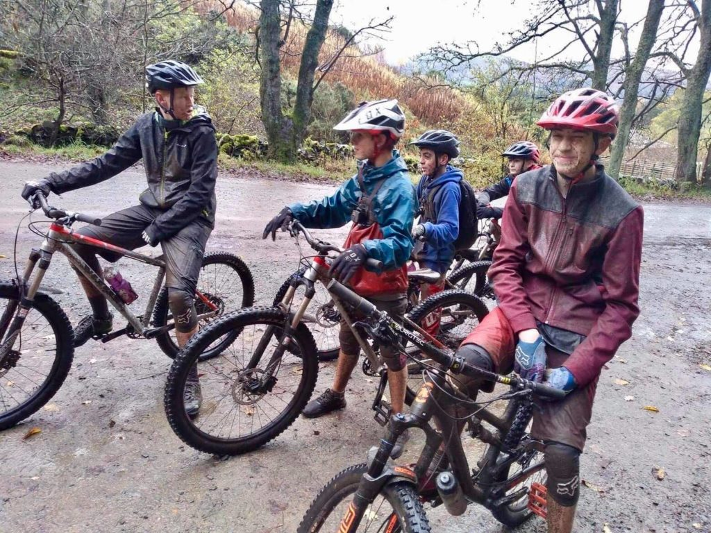 Good old fashioned exhilarating and muddy fun.
