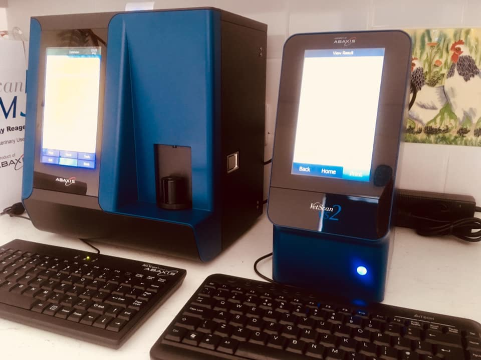 New VS2 biochemistry and HM5 heamatology analsyers will make a huge difference in patient care.