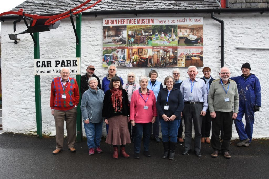 FEBRUARY. Volunteers at the Arran Heritage Museum have been busy preparing for their summer opening next month. This year will be a special one for the museum in that it will be celebrating its 40th anniversary.