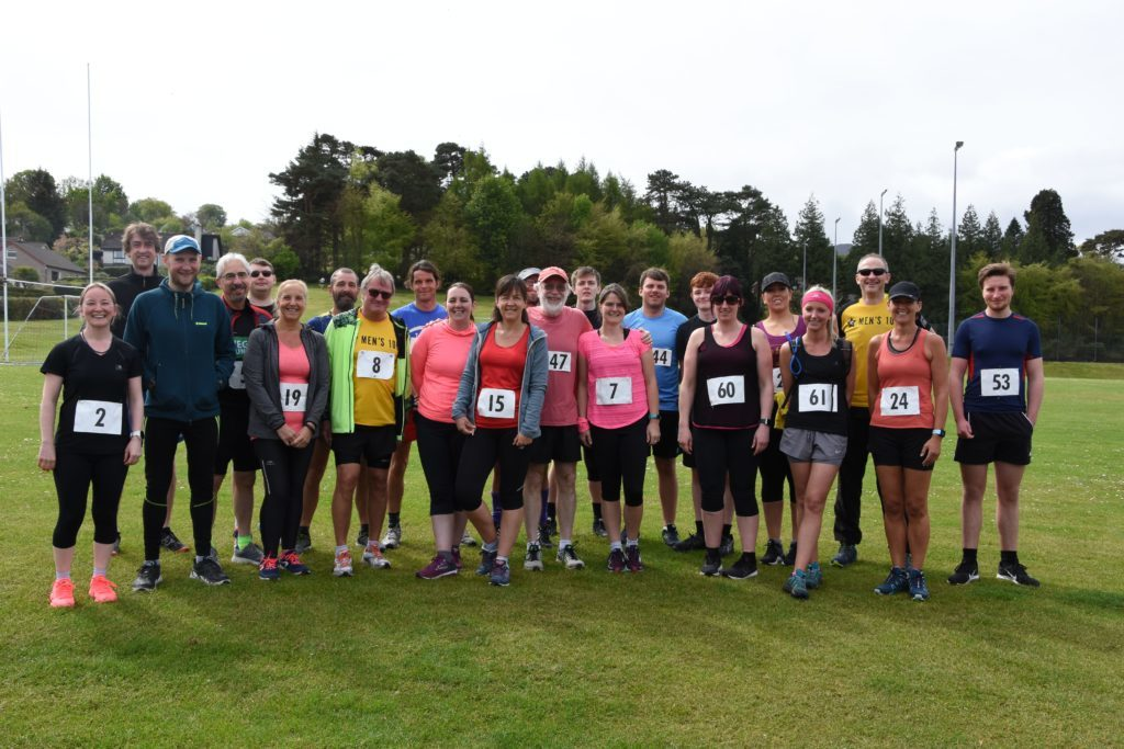MAY. A large contingent of local runners took part in this year's Ormidale 10k race which enjoyed a record entry of 105 runners this year.