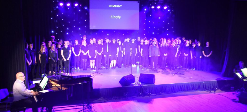 JUNE. Arran High School held their annual music concert with over 150 high school pupils taking part. The show involved more than 50 per cent of the pupils at the school.