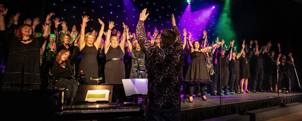 FEBRUARY. Arran Soul Choir impressed the audience at their Souled Out concert which, true to its name, sold out with every ticket being snapped up soon after being released. Photo: David Hogg.