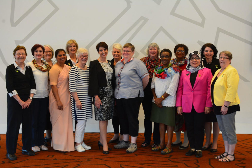 MAY. Alison Burnet of Shiskine has been elected as the deputy world president of the Associated Countrywomen of the World after having served in the organisation for almost 17 years in various positions. Alison, sixth from the left, is pictured with the new ACWW board.