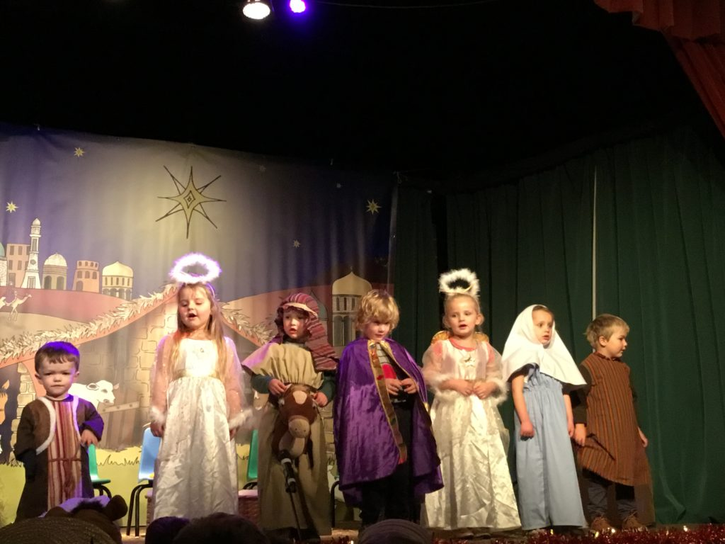 The cast of My First Nativity.