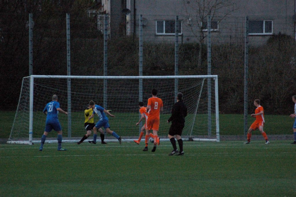 Arran go further behind in the game's closing stages.