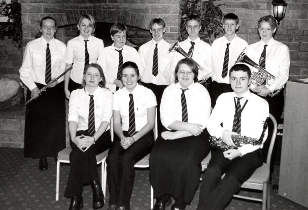 All of the young musicians who took part in the Young Musician of the Year competition at Brambles Bistro last Tuesday.