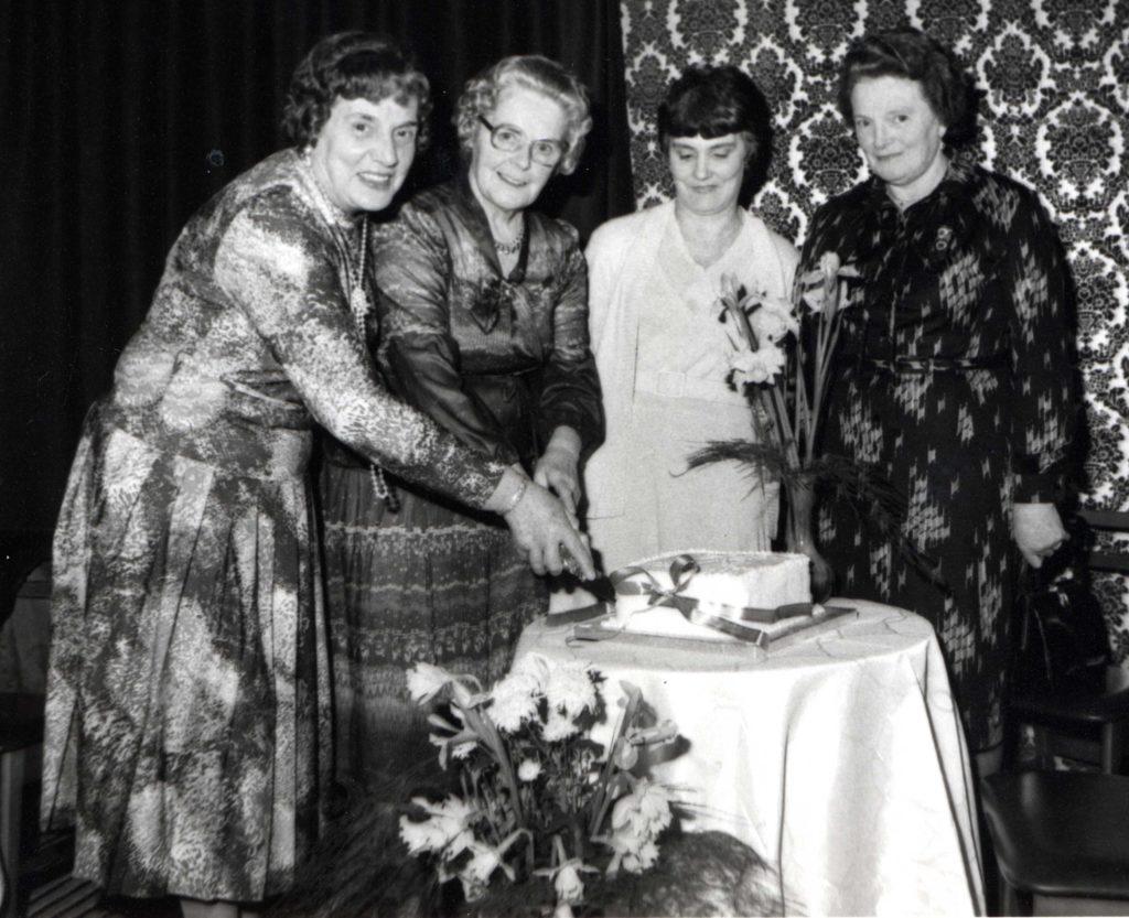 Lamlash WRI celebrated 60 years in 1983.