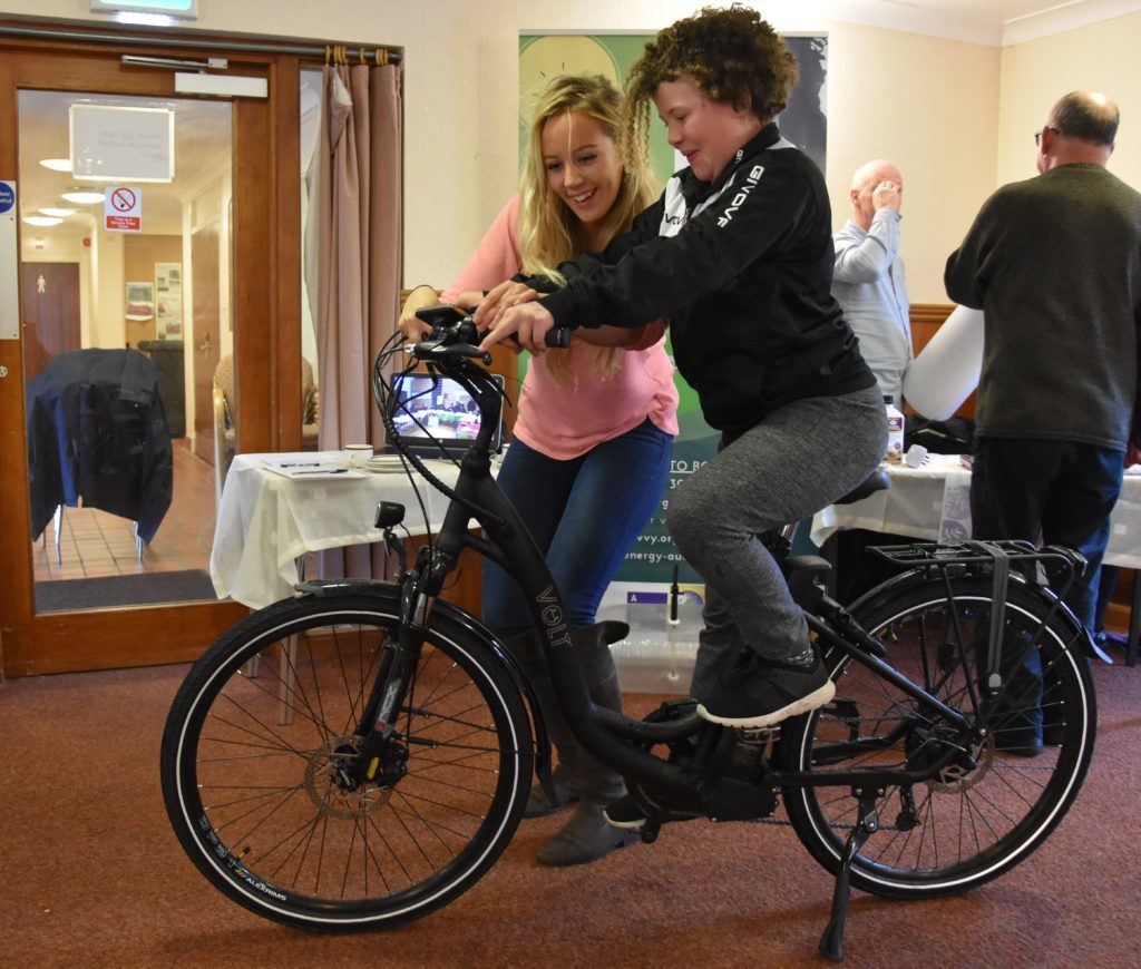 Eco Savvy representatives will be offering Spring Fest visitors the opportunity to try out their eBikes.