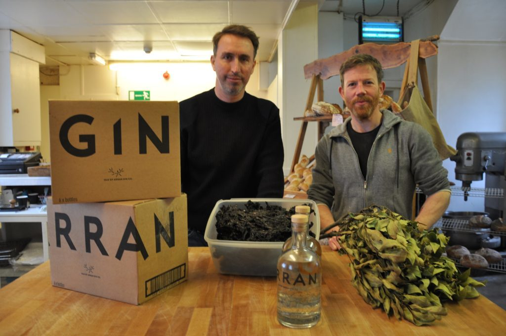 Stuart Fraser of Arran Gin and George Grassie of the Blackwater Bakehouse will be representing their businesses at Spring Fest.