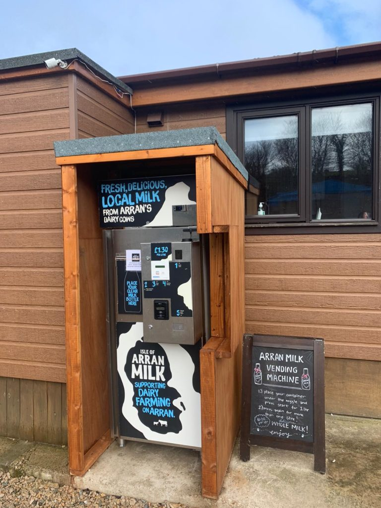 Arran Milk will be one of the organisations offering visitors the chance to try their product and learn about its eco credentials.