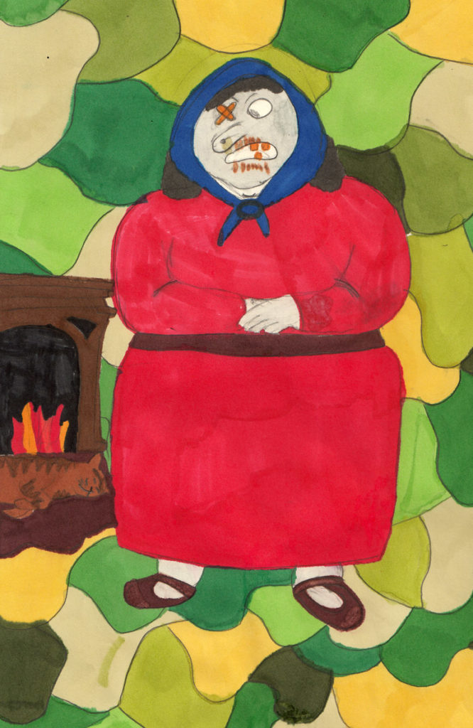 Beth McNeice of Lamlash Primary was shortlisted for this colourful drawing.