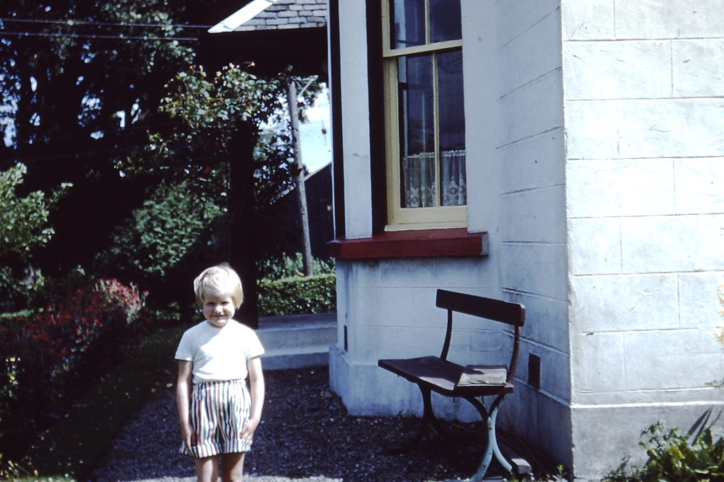 Wee Helen at Hillcrest in 1958.