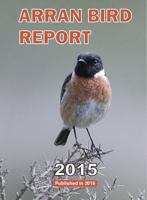 The cover of the 2015 bird report.