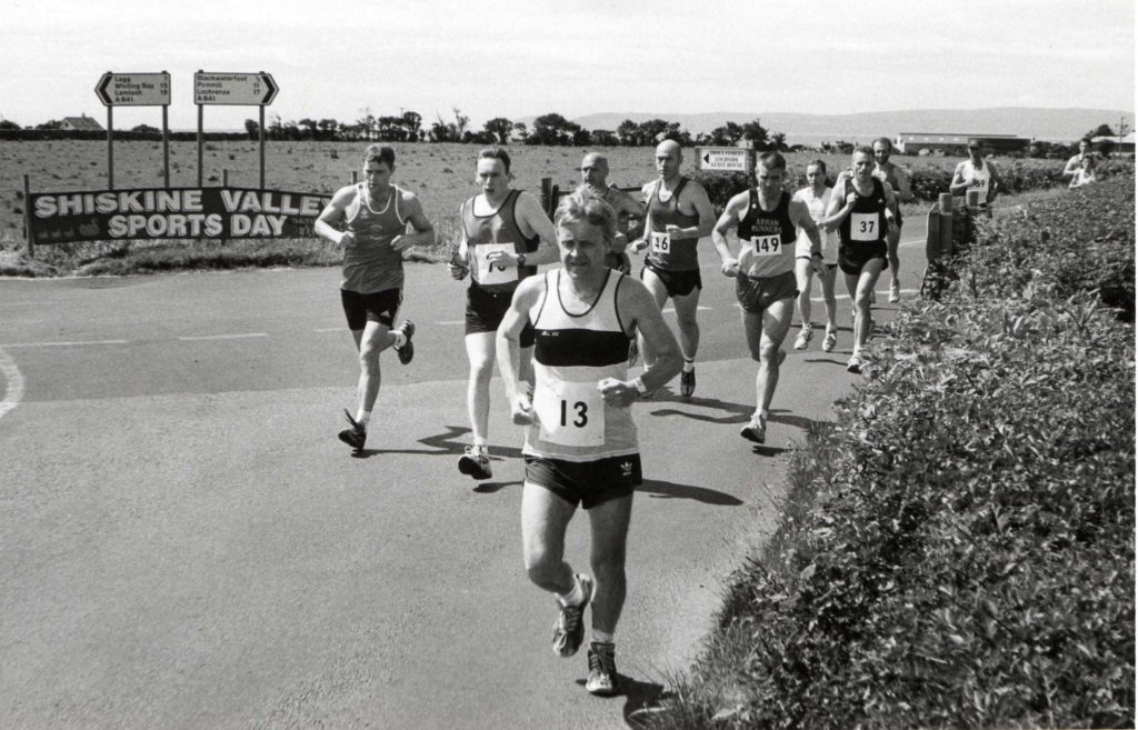 A long way to go for the field of just under 150 runners who took part in the Shiskine Valley half marathon last Sunday.