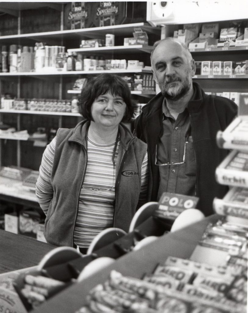 The new owners at Murchies Stores in Lamlash are Alex and Marion Kelso who have come from Stewarton to take over the shop.