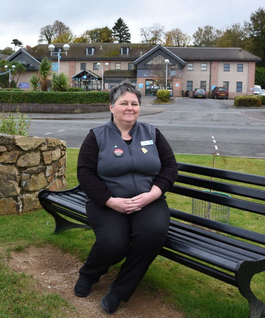 OCTOBER:  Liz Mclean, popular store manager at the Co-op's Brodick stores, has received the British Emprire Medal (BEM) in recognition of her work as a frontline food retail worker for services to the Covid-19 response.