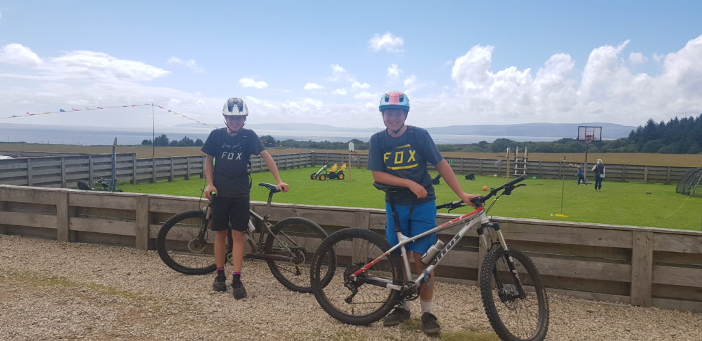 JULY: Whiting Bay teenagers, Jesse and Sid Townsend, cycled 100kms around Arran to raise cash for a cancer charity.