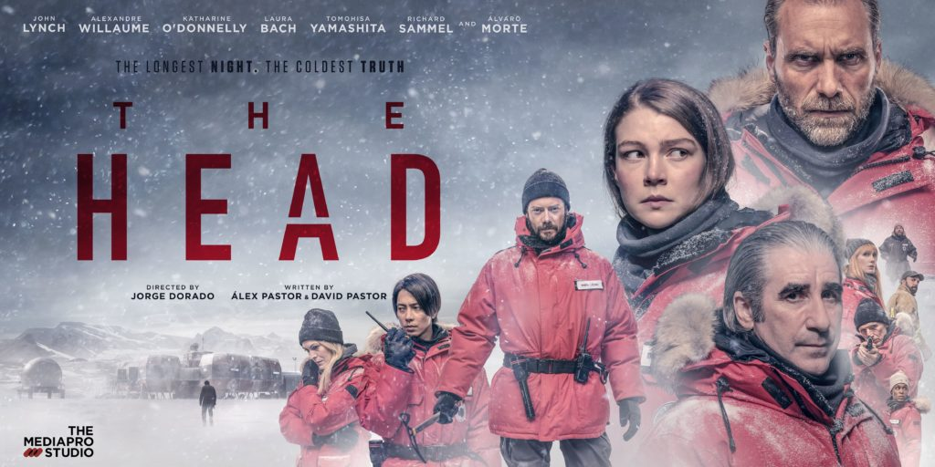 An advertising poster for The Head.