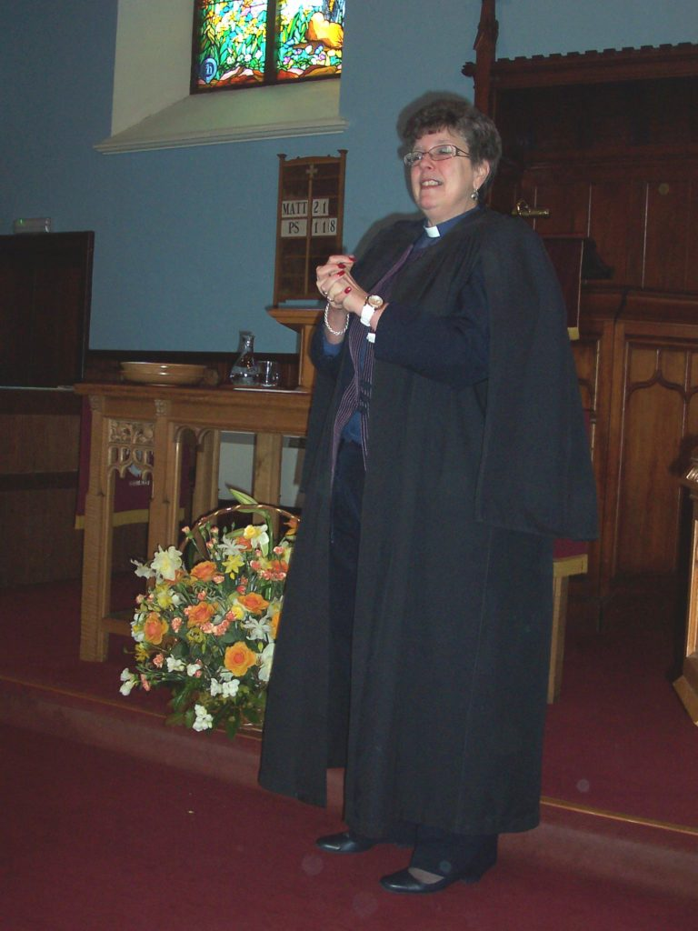 The Rev Watson celebrates 30 years of her ministry on Arran.