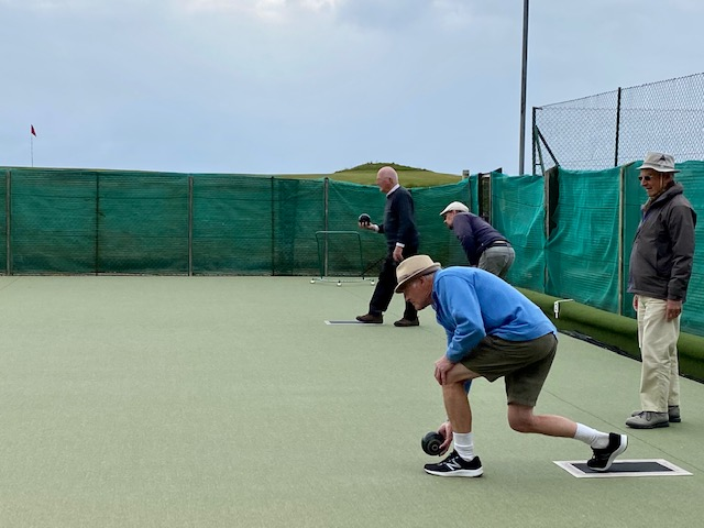 Sunny and dry weather conditions were ideal for the first two matches of the season.