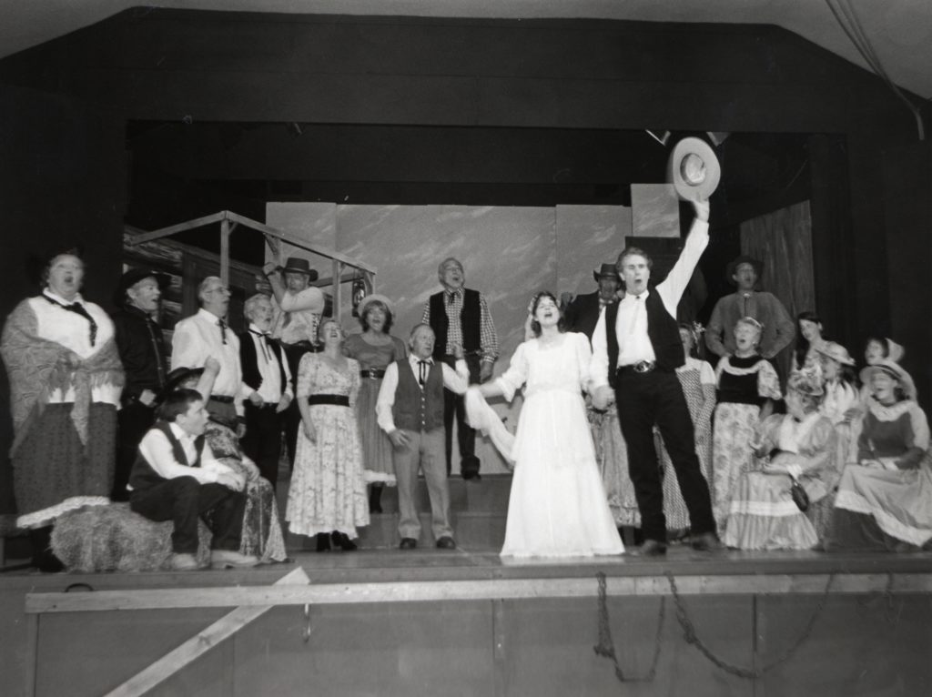 The finale of Oklahoma, which has packed Brodick Hall for six nights, was another huge success for Arran Music and Drama Club.