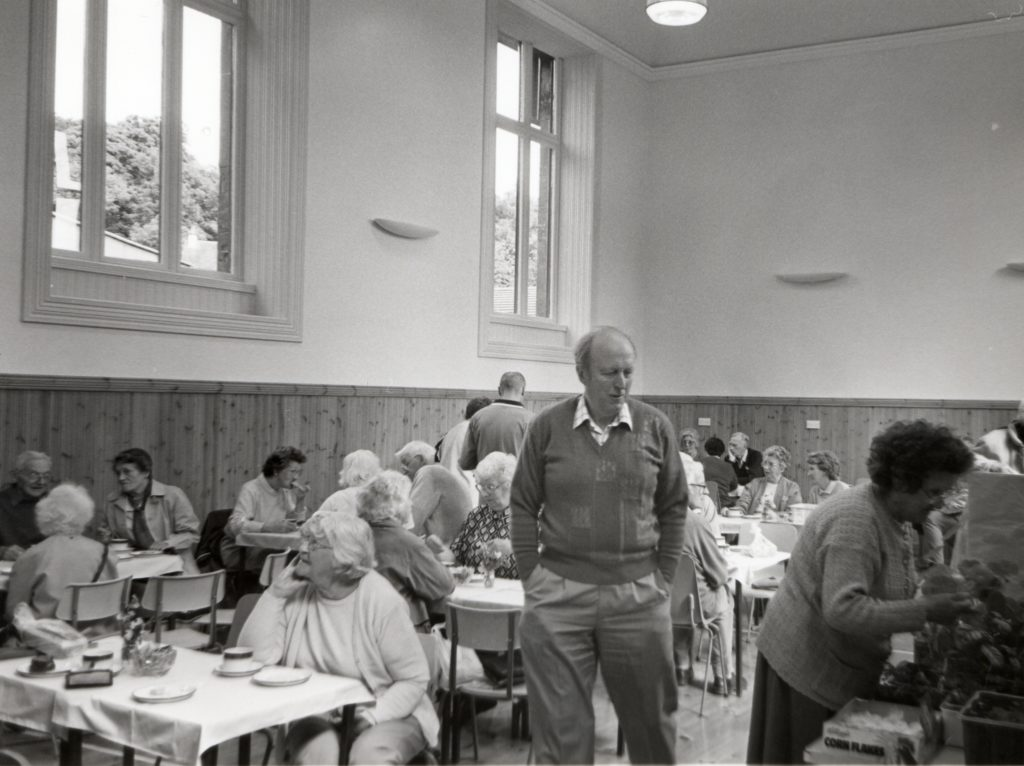 Lamlash Church hall has re-opened after two-and-a-half years of painstaking refurbishment following a devastating flood. The congregation has already returned to their weekly coffee mornings.