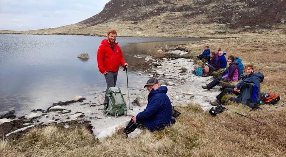 Meall nan Damh and the three lochans walk. Photo Sherie Walker
