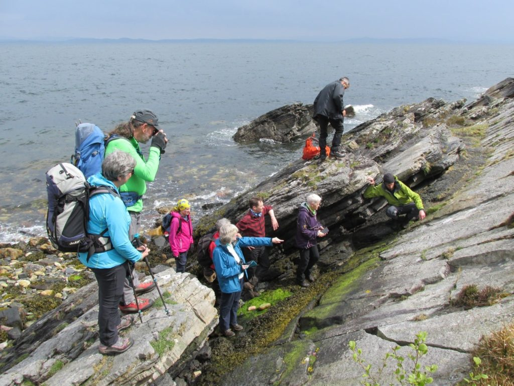 The participants of the Laggan geology loop agreed that Arran totally rocks!