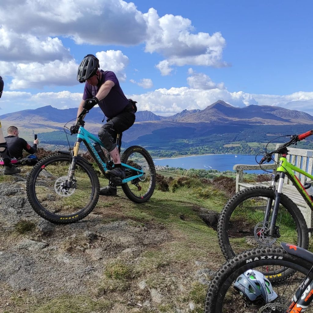 The Ride Arran MTB guiding advanced session was part of the festival this year.