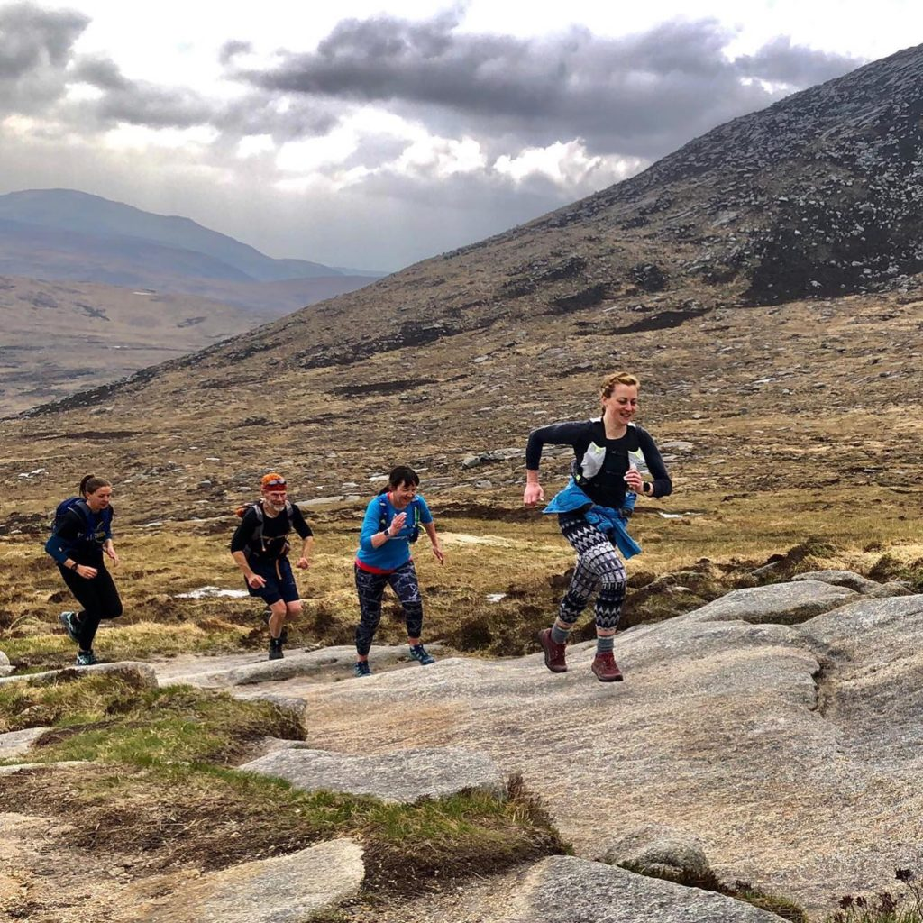 Some brilliant action shots from today's intro to mountain running session. Photo leader Giles.