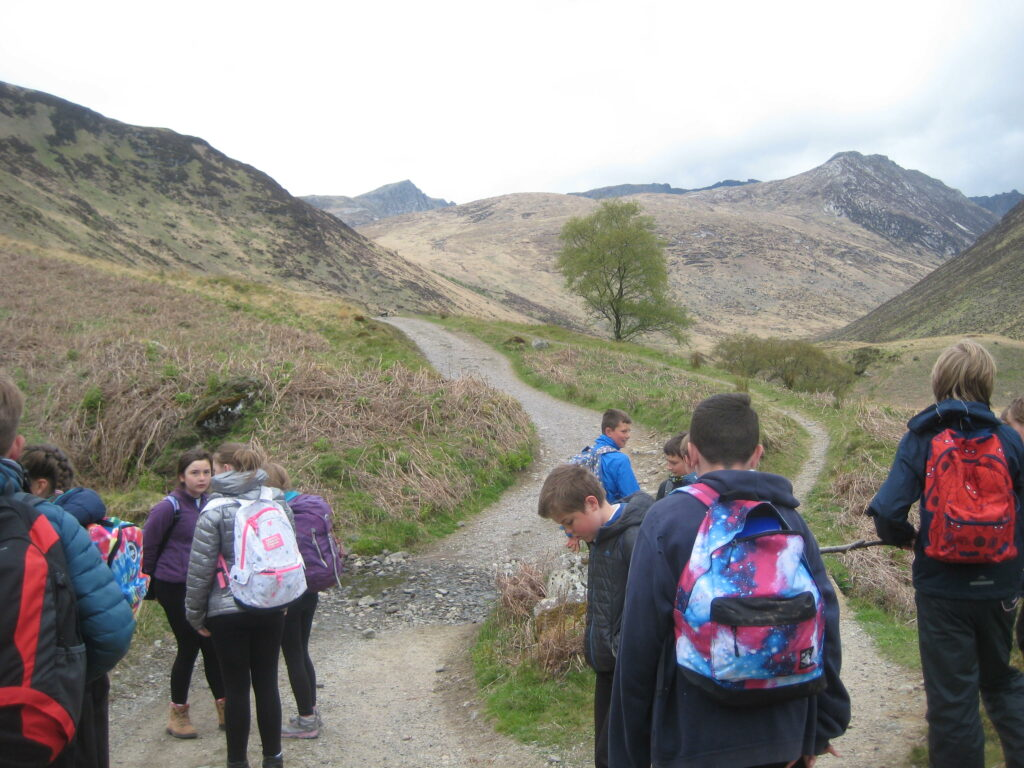 An exploration of Glen Rosa was included in the itinerary of outdoor excursions.
