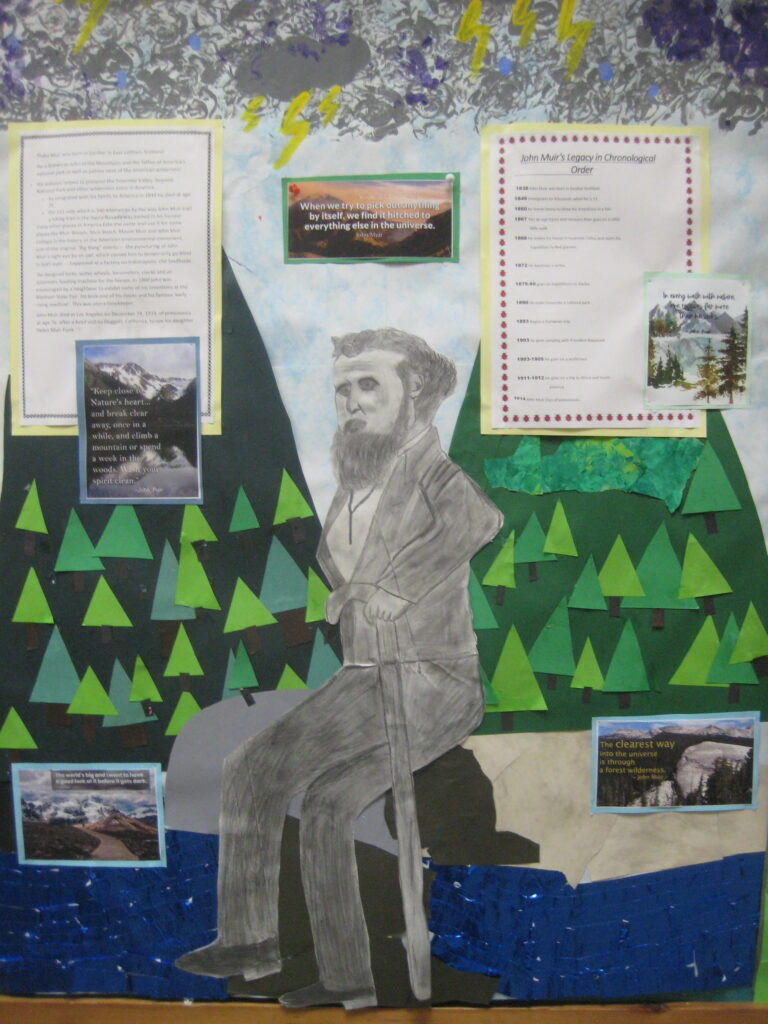 Part of the John Muir Award involves learning about the legacy and life of John Muir himself.