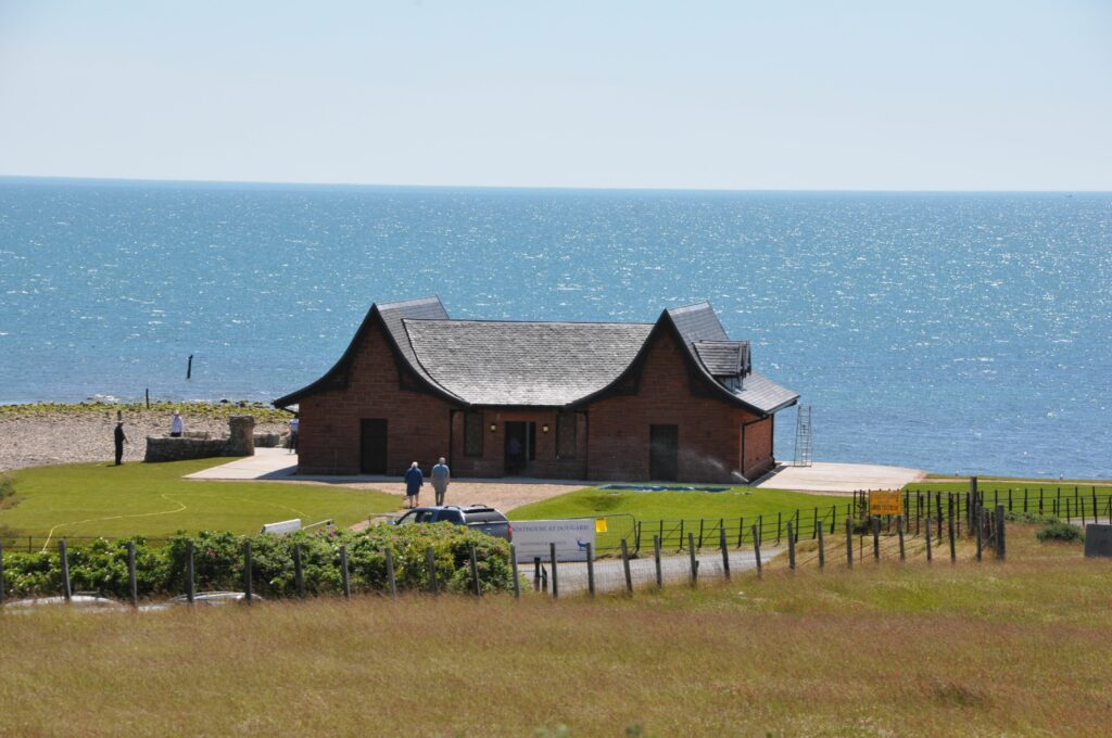 The Boathouse at Dougarie is to open as a wedding venue in August..