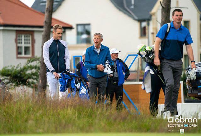 A particular highlight for Ewan was meeting former Scottish golfer Ken Brown.