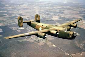 A Consolidated Liberator aircraft similar to the one which crashed.
