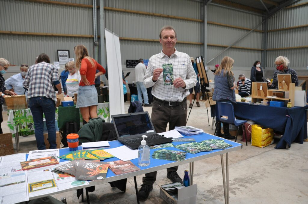 Cameron Bruce of Arran's Food Journey helped to organise the event and secured funding from Scottish Food and Drink.