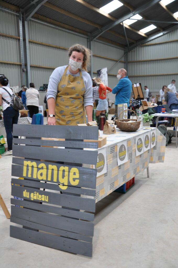 Amy Tattersfield of Mange du gateau sold a number of sweet treats and tempting cakes.