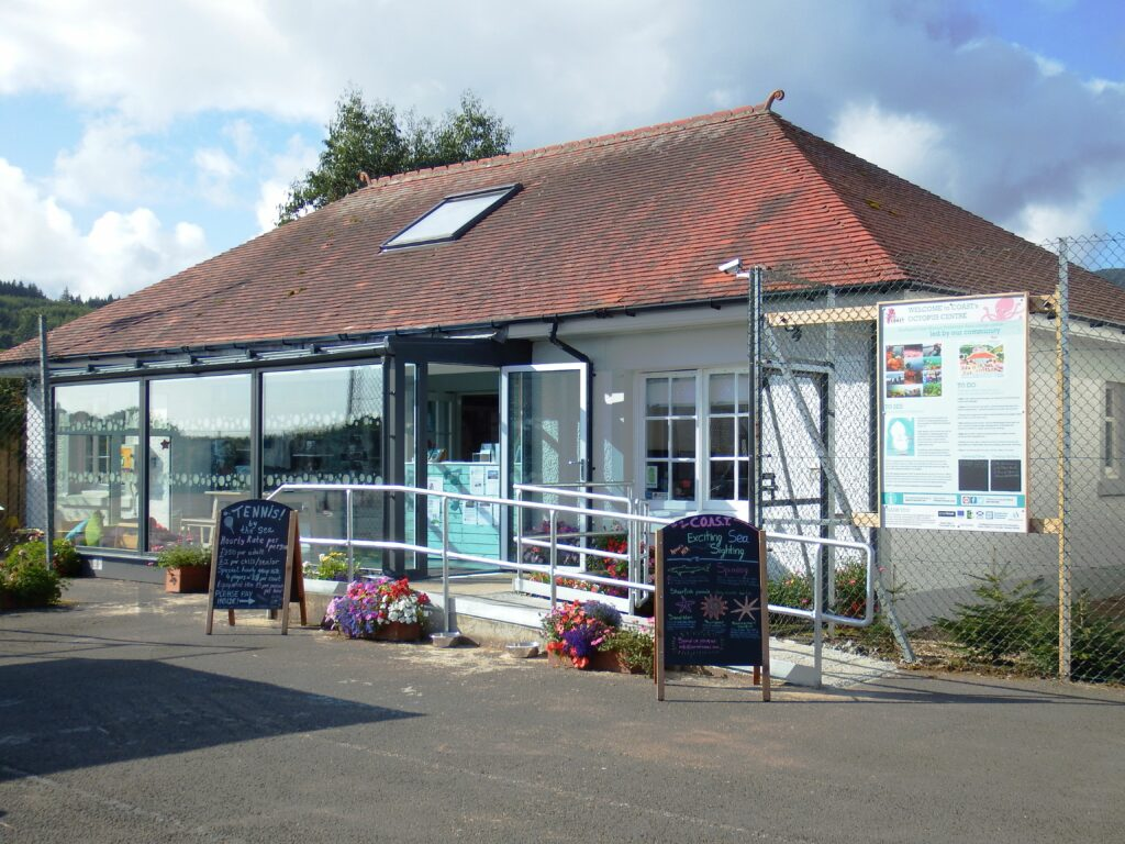 A UK first, the community led COAST Discovery Centre in Lamlash.