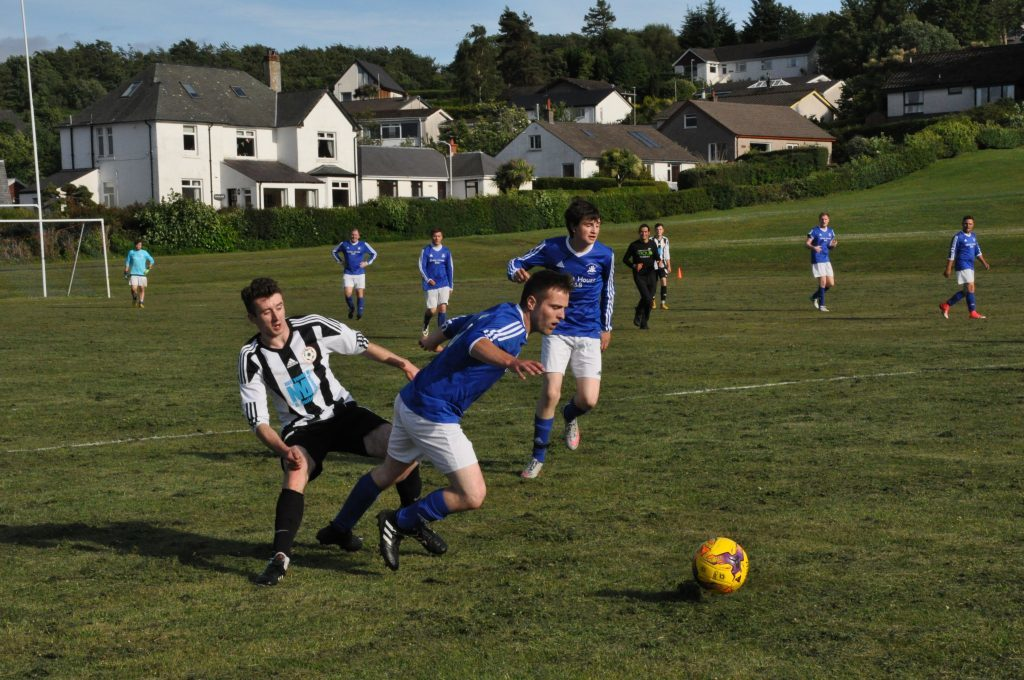 Brodick beat the odds in close clash with Lamlash