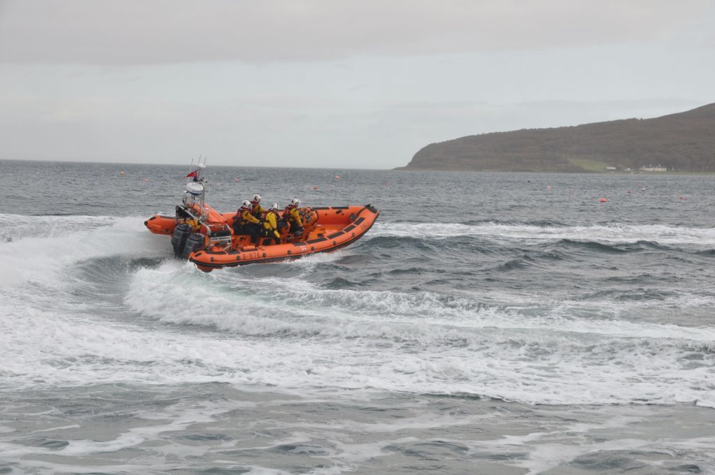 Back to back callouts for Arran RNLI crew