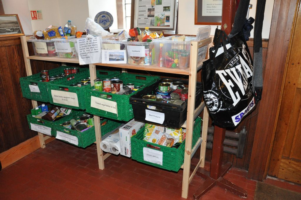 Arran Foodbank now offers a delivery service