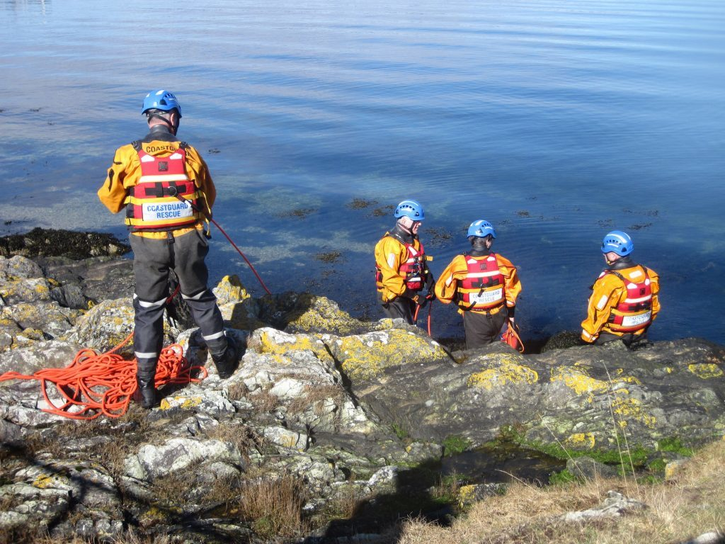 Busiest year on record for Arran Coastguard team