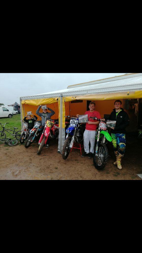Arran motocross success at Duns